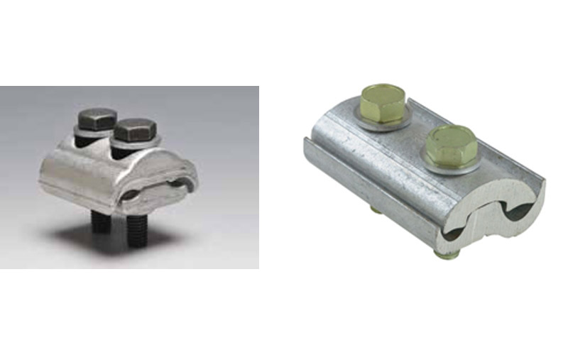 ALUMINIUM PARALLEL GROVE CLAMPS