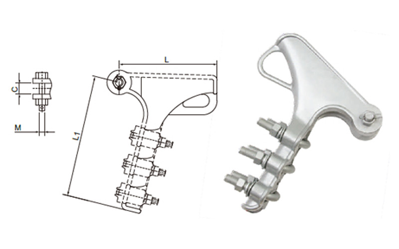 PISTOL GRIP CLAMPS-GUN CLAMPS